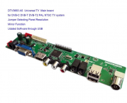 3663  DVB-C DVB-T2 DVB-T Universal controler board