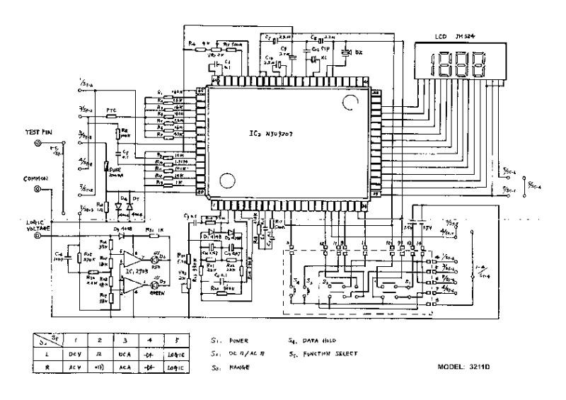 Dt266c схема электрическая