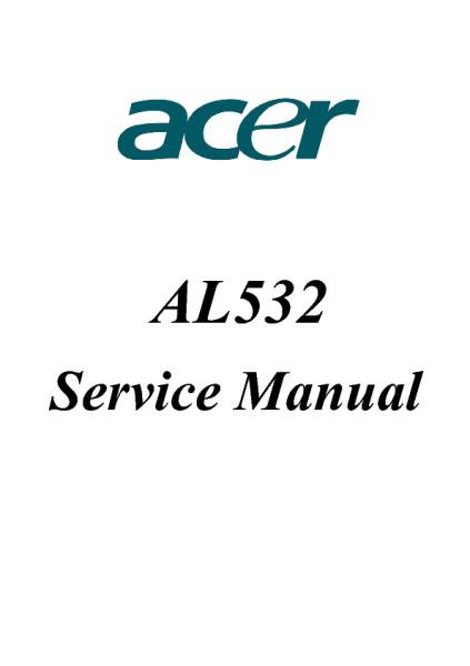 Nec 1760nx acer al732 - flat